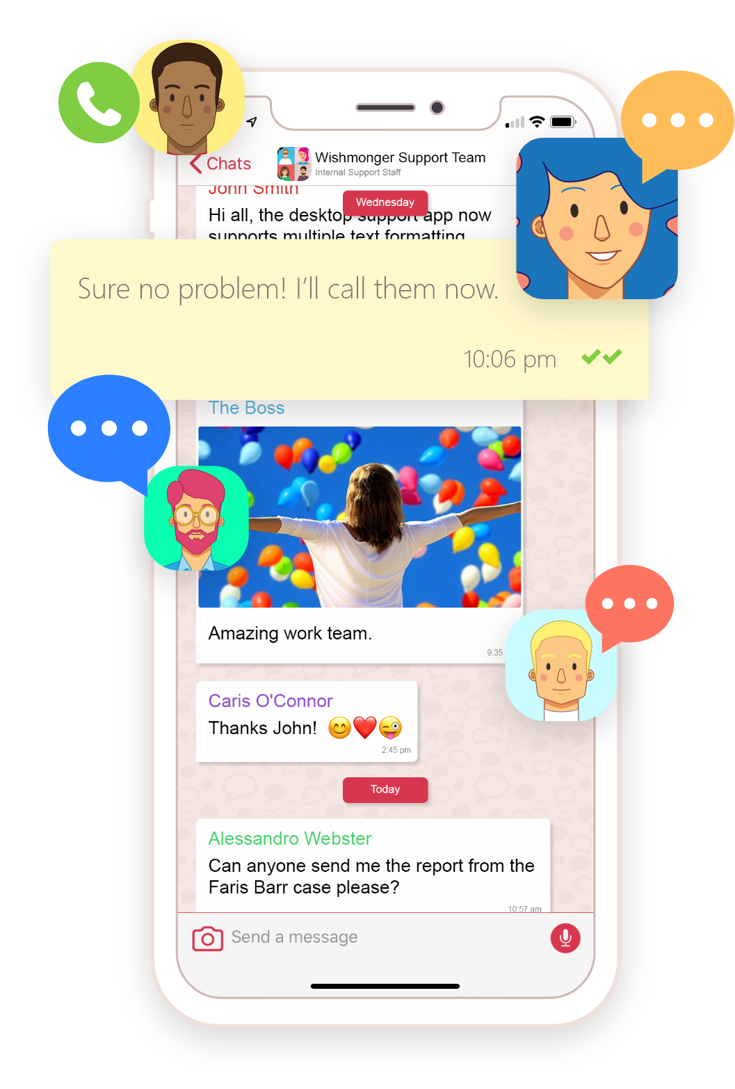 Collaborate with the Yay.com business instant messaging app