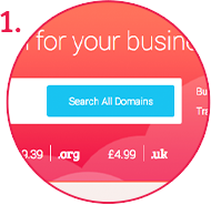 1. Search for the domain to backorder