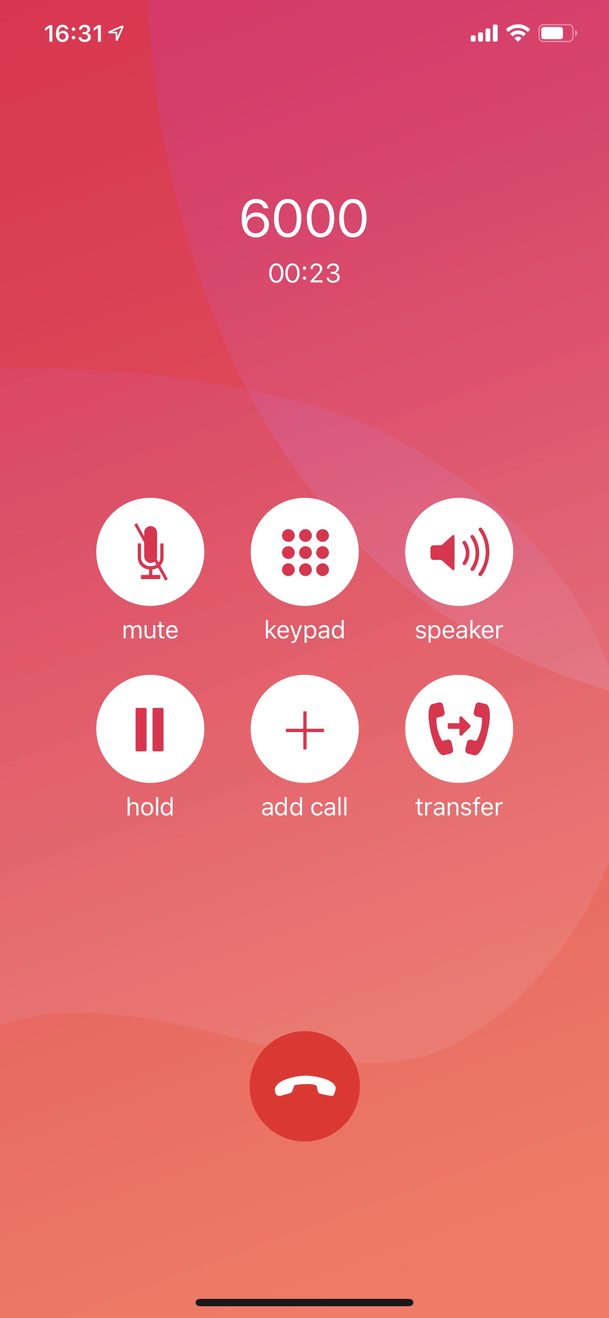 Voice calling app and phone system