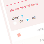 Complete VoIP Call Monitoring Feature