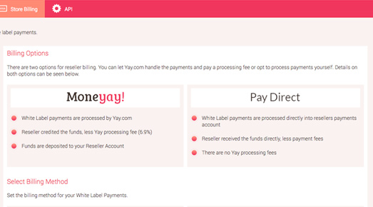 Let Yay.com collect your funds generically or collect yourselves