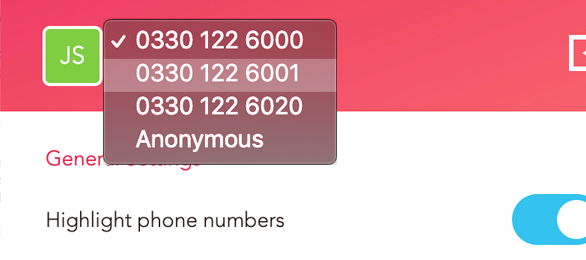 Google Chrome Click-to-Dial Caller ID